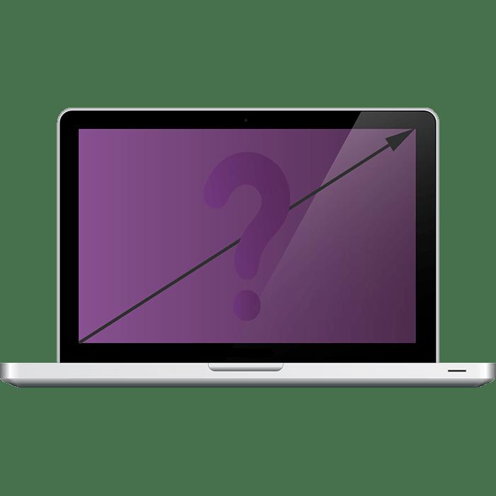 Как узнать диагональ своего ноутбука