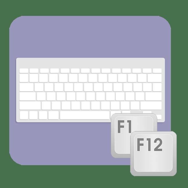 Как включить клавиши F1-F12 у ноутбука