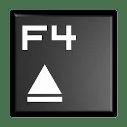 Клавиша открытия дисковода на ноутбуке
