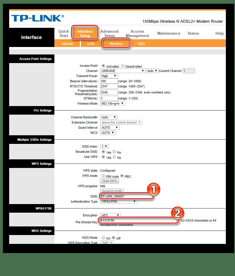 Настройка беспроводной сети в модемах TP-Link TD-W8901N и ZTE ZXHN H108N