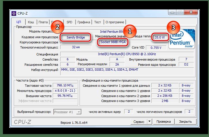 Определение характеристик процессора на ноутбуке
