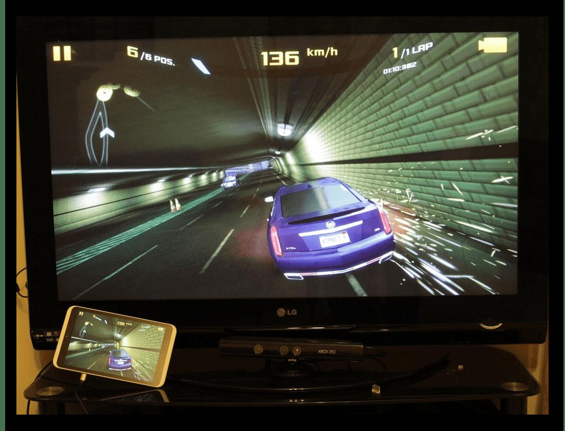 Подключение смартфона к телевизору через micro HDMI