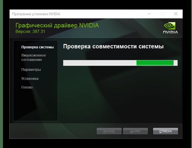 Проверка совместимости системы для NVIDIA GeForce GTS 450