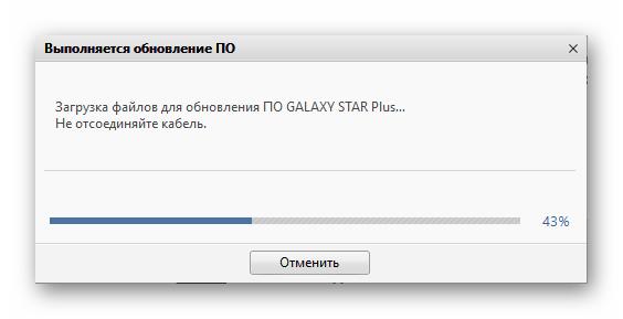 Samsung Galaxy Star Plus GT-S7262 Загрузка обновления через Kies