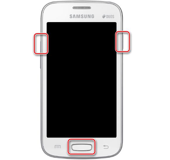 Samsung Galaxy Star Plus GT-S7262 загрузка рекавери