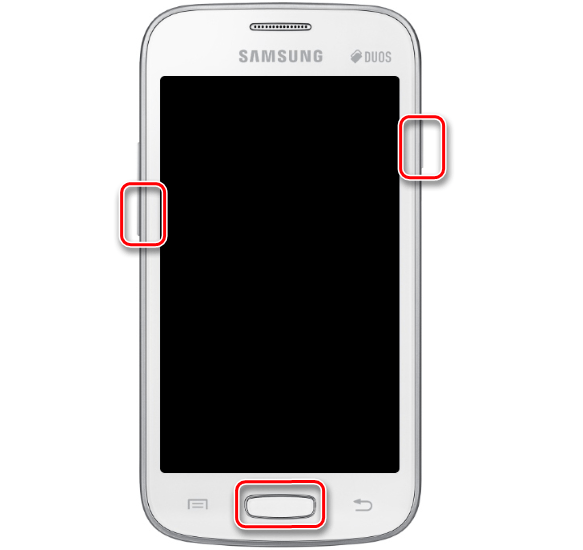 Samsung Galaxy Star Plus GT-S7262 загрузка в режим Download