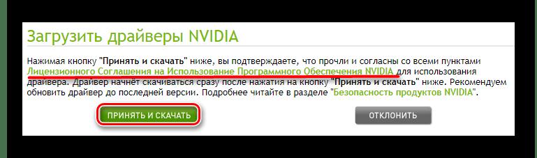 Условия лицензионного соглашения для NVIDIA GeForce 210