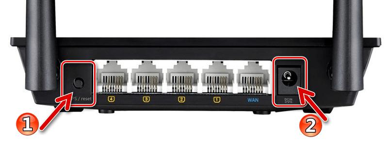 ASUS RT-N12 VP B1 переключение маршрутизатора в режим Recovery для восстановления