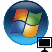 Черный экран в Windows 7