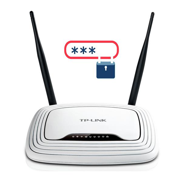 Как поставить пароль на роутере TP-Link