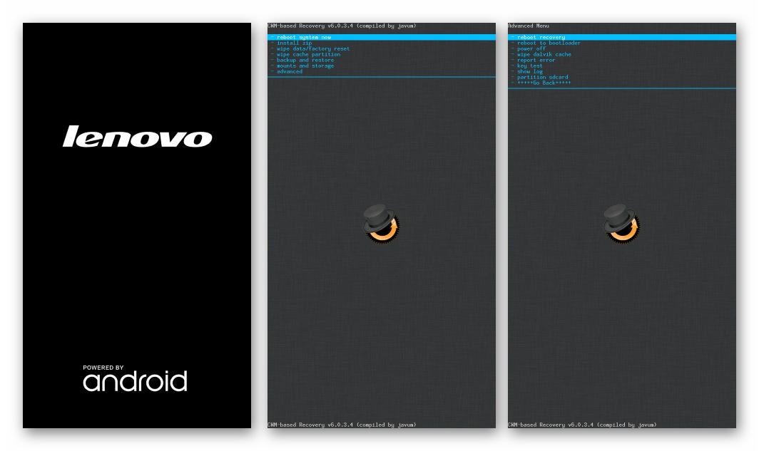 Lenovo S820 запуск кастомного рекавери поле прошивки с помощью SP Flash Tool