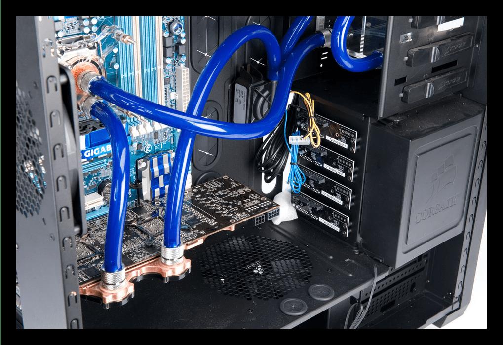 Образец качественного охлаждения перегревающегося компьютера