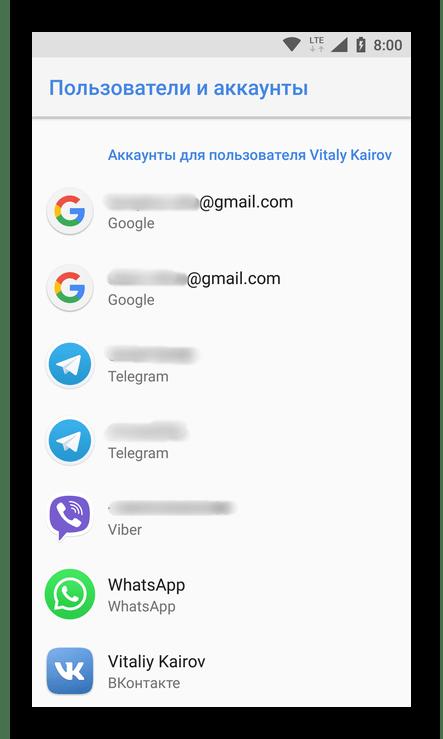 Как узнать, где хранятся контакты на Android