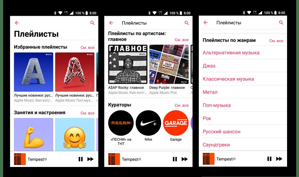 Виды и категории плейлистов в Apple Music