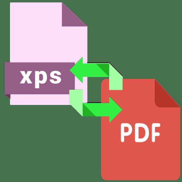 как конвертировать xps в pdf файл