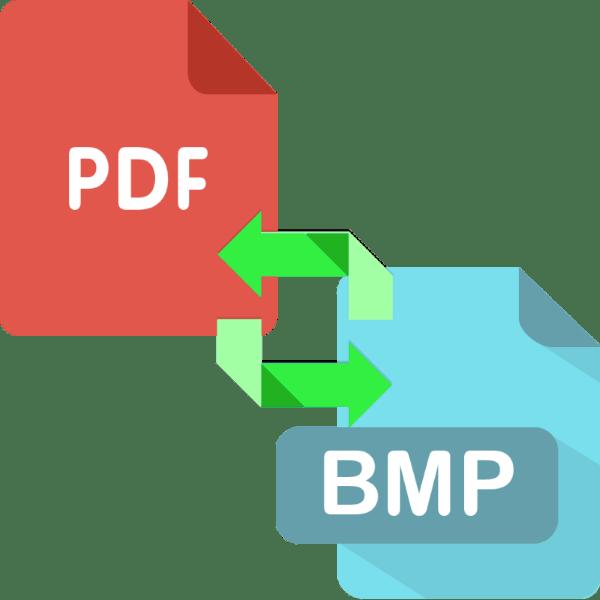 как преобразовать pdf в bmp