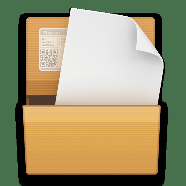 Архиватор The Unarchiver для mac OS