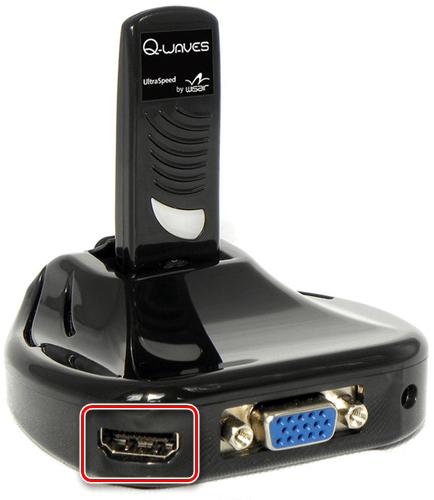 Использование HDMI-порта на беспроводном преобразователе