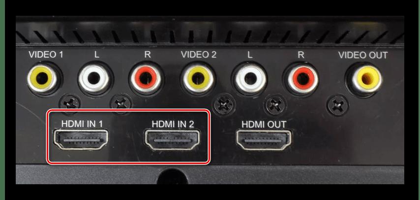 Использование HDMI-портов на телевизоре