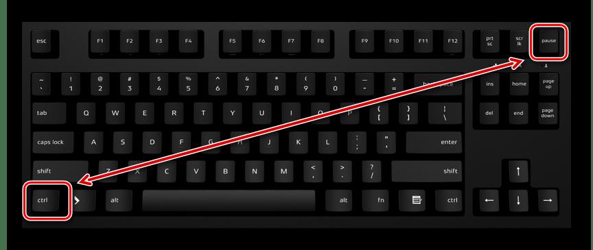Использование горячих клавиш на клавиатуре