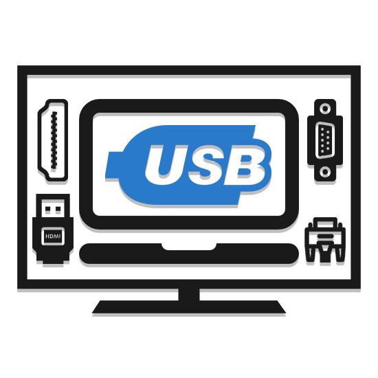 Как подключить ноутбук к телевизору через USB