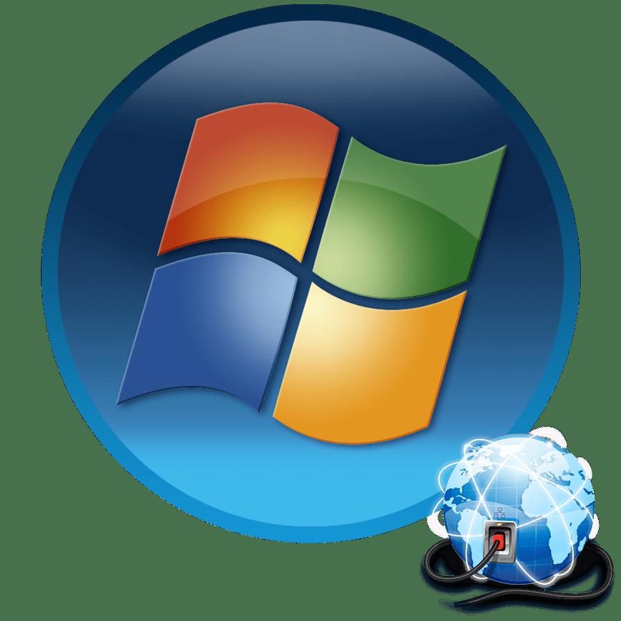 Настройка интернет в Windows 7