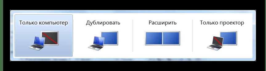 Настройка вывода изображения на Windows 7