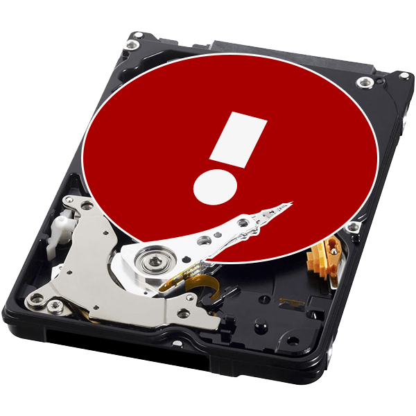 Ошибка Windows обнаружила неполадки жесткого диска