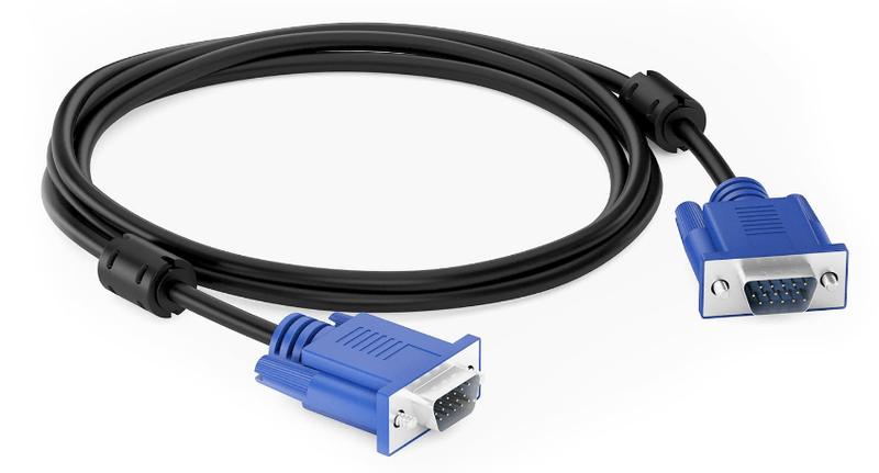 Пример VGA-кабеля для подключения ПК к ТВ