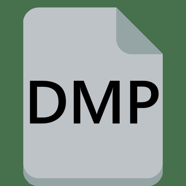 чем открыть dmp