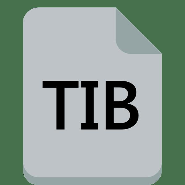 чем открыть файл tib