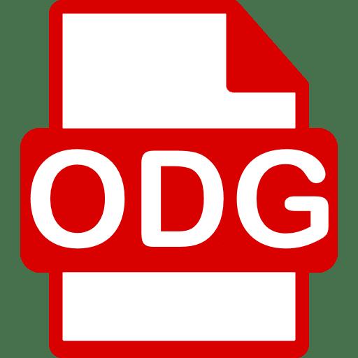 how to open оdg