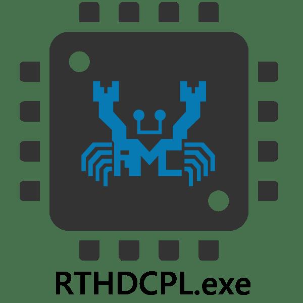 процесс rthdcpl.exe грузит процессор решаем проблему