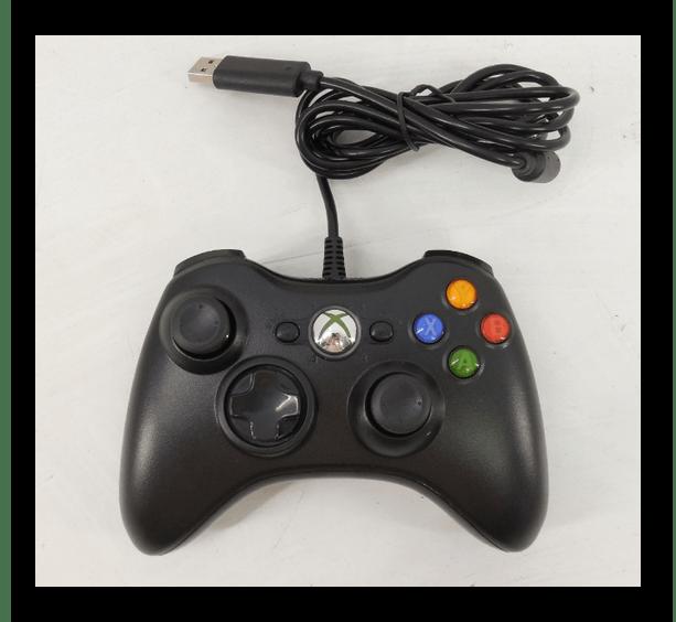 Использование джойстика от Xbox 360