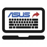 Как снять клавиатуру с ноутбука ASUS
