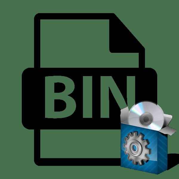 Как установить файл Bin