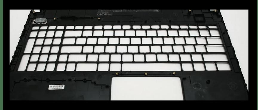 Осмотр верхней панели ноутбука ASUS