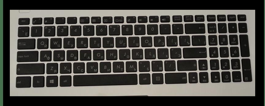 Установка клавиатуры на ноутбуке ASUS