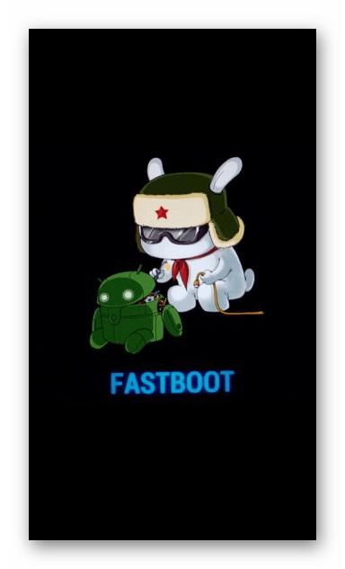 Xiaomi Redmi Note 3 PRO экран смартфона в режиме Fastboot
