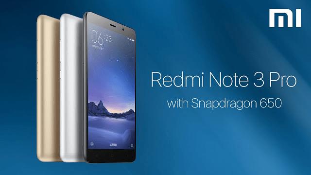 Xiaomi Redmi Note 3 Pro KENZO на базе процессора Qualcomm