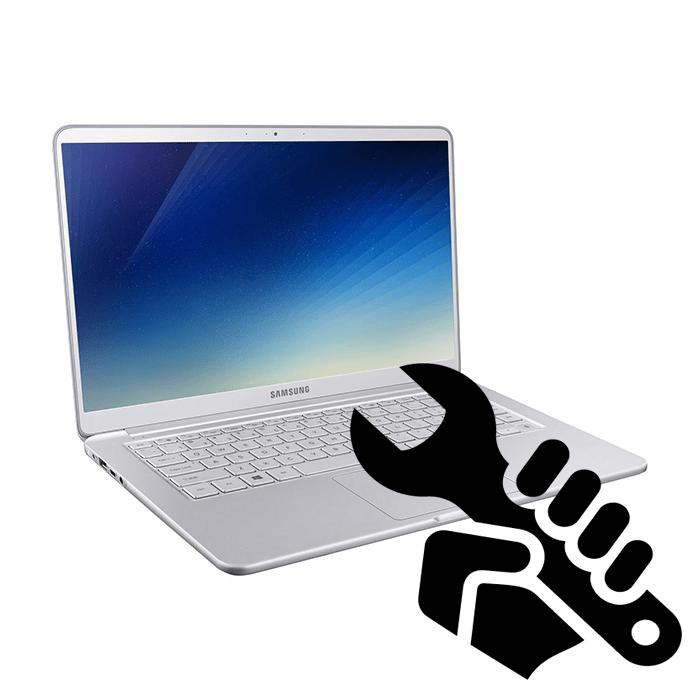 Как разобрать ноутбук Samsung