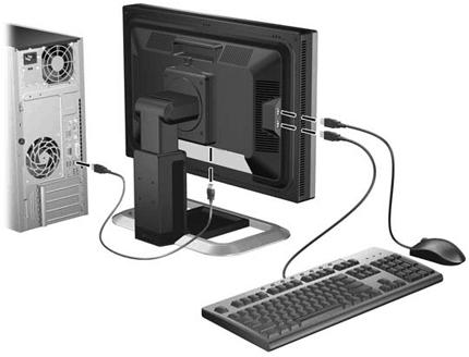 Подключение монитора к компьютеру