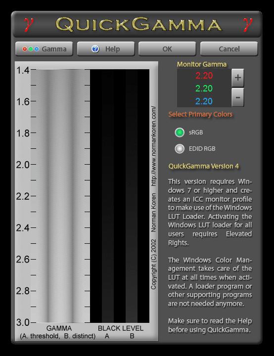 Программа для калибровки монитора