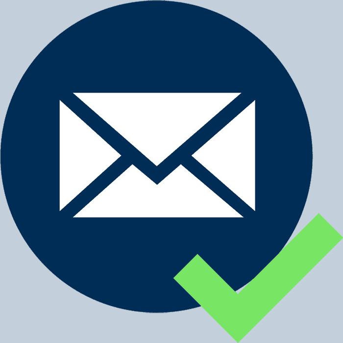 Проверка адреса электронной почты на существование