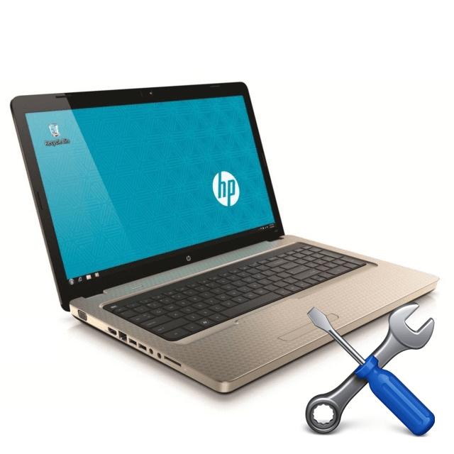 Разборка ноутбука HP G62