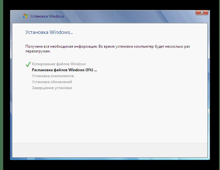 Установка компонентов для Windows 7