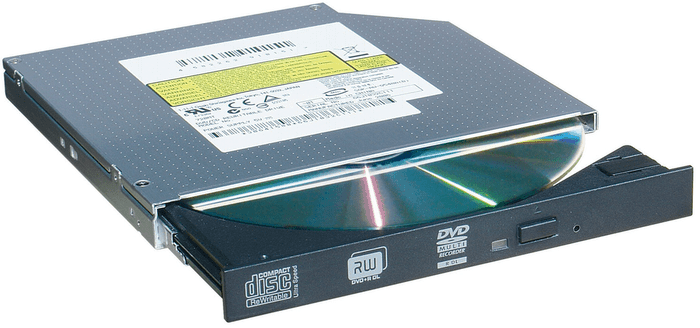 Внешний вид дисковода ноутбука