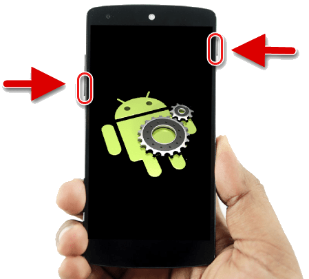 Загрузка смартфона в режим восстановления Android
