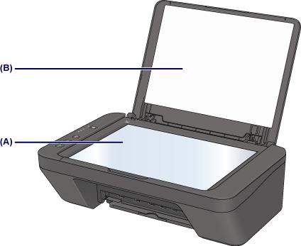 Чистка поверхности сканера принтера Canon