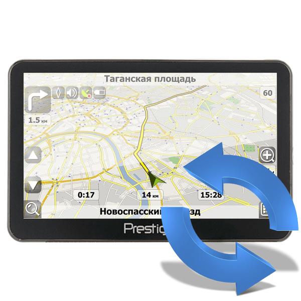 Как обновить карты Навител на навигаторе Prestigio